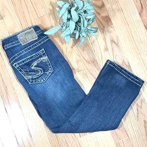 SILVER AIKO Women's Capri Jeans Size 25